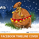 Christmas Bag Facebook Timeline Cover - GraphicRiver Item for Sale