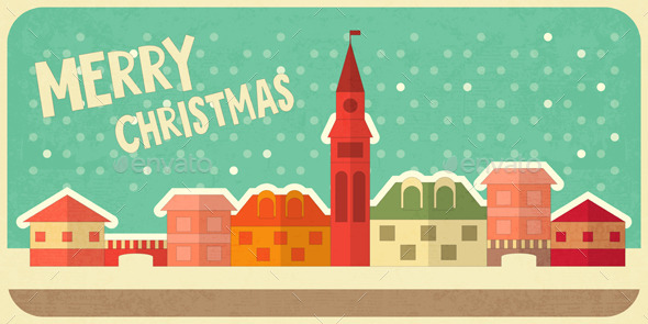 GraphicRiver Christmas Card 9452357