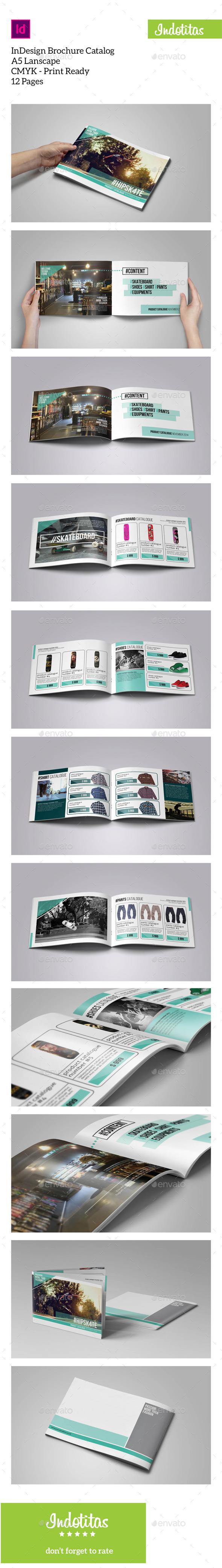 GraphicRiver Brochure Catalogs A5 Lanscape 9452399
