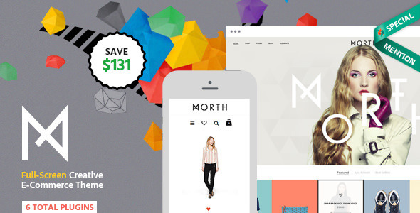North Unique E-Commerce Theme