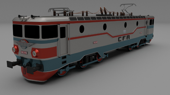 Class 42 Electric Locomotive - 3DOcean Item for Sale