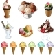 Ice-Cream Set - GraphicRiver Item for Sale