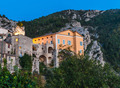 Mountain old village Peille, Provence Alpes, France. Night view - PhotoDune Item for Sale