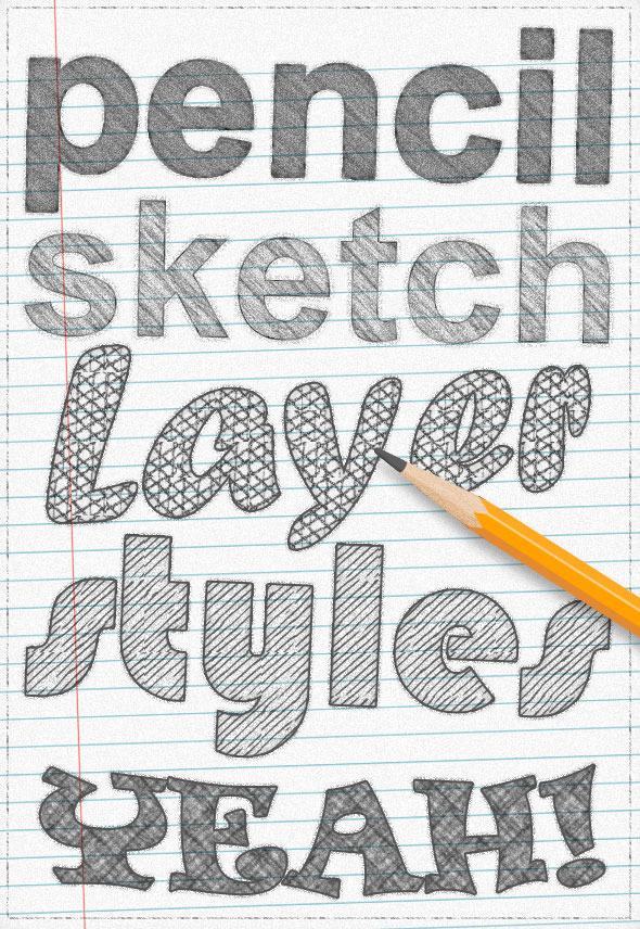 GraphicRiver Pencil Sketch 9453710