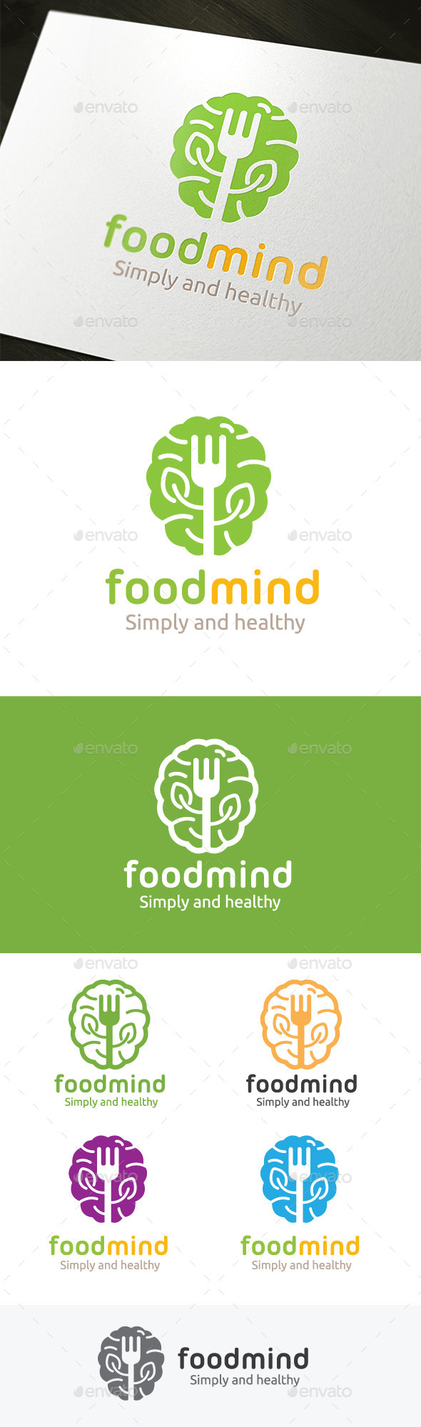 GraphicRiver Food Mind 9453759