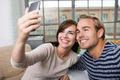 Cute young couple posing for a selfie - PhotoDune Item for Sale