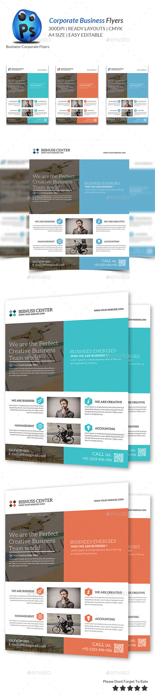 GraphicRiver Best Business Flyers Templates 9454038