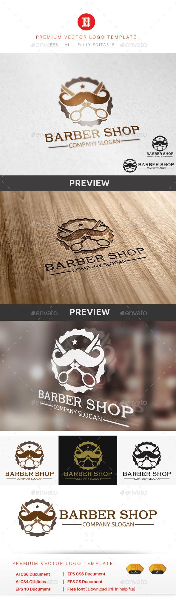 GraphicRiver Barber Shop 9454058
