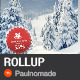 Winter Sale Roll Up Banner - GraphicRiver Item for Sale