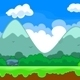 Forest Game Background - Fun Cartoon Style - GraphicRiver Item for Sale