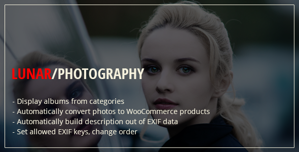 Lunar WordPress Photography Plugin