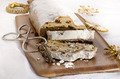 christmas stollen on wooden board - PhotoDune Item for Sale