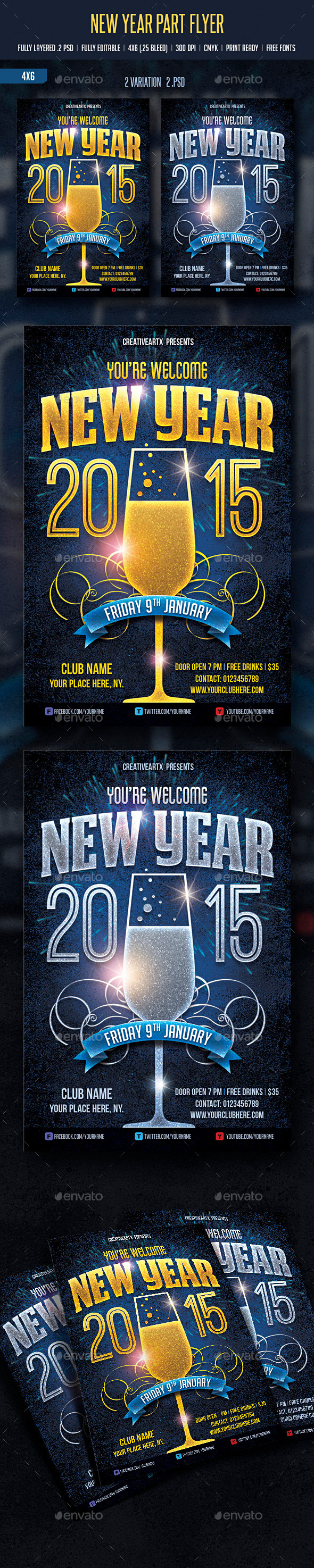 GraphicRiver New Year Party 9454904