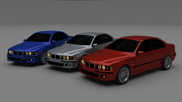3DOcean 5 Series BMW E39 9454941