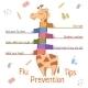 Flu Prevention Tips - GraphicRiver Item for Sale