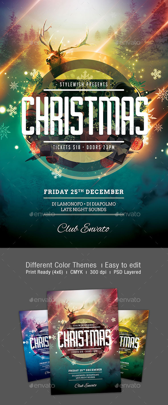 GraphicRiver Christmas Flyer 9454981