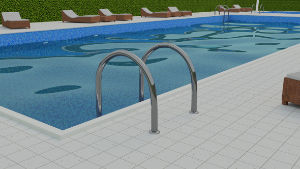 3ds max vray swimmingpool scene free download for Swimming pool 3d model free download