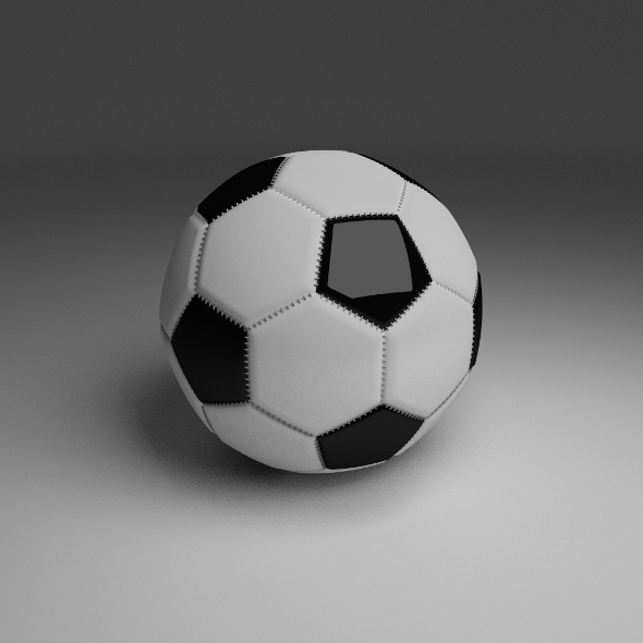 High Quality Football - 3DOcean Item for Sale