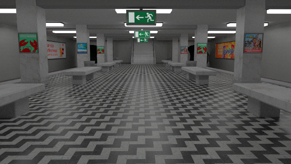 3DOcean Subway Station 9455407