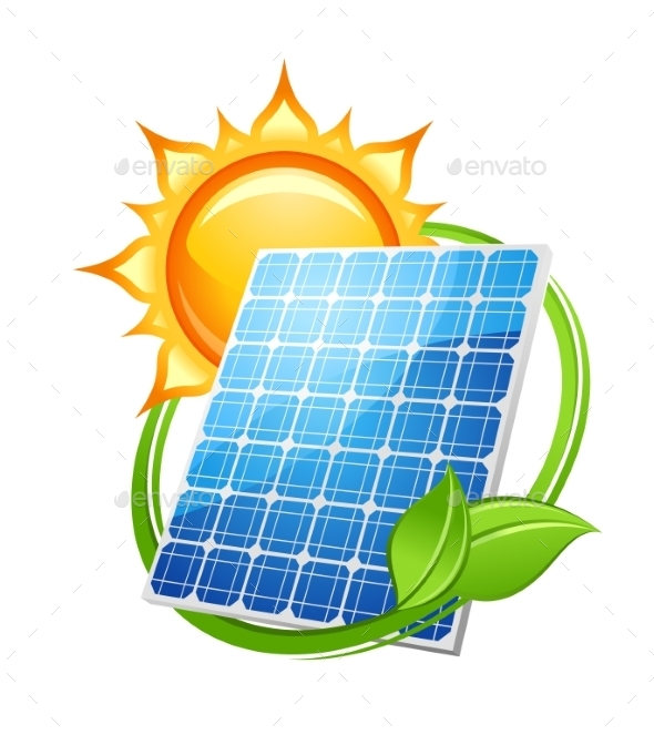 GraphicRiver Solar Energy and Power Concept 9455532