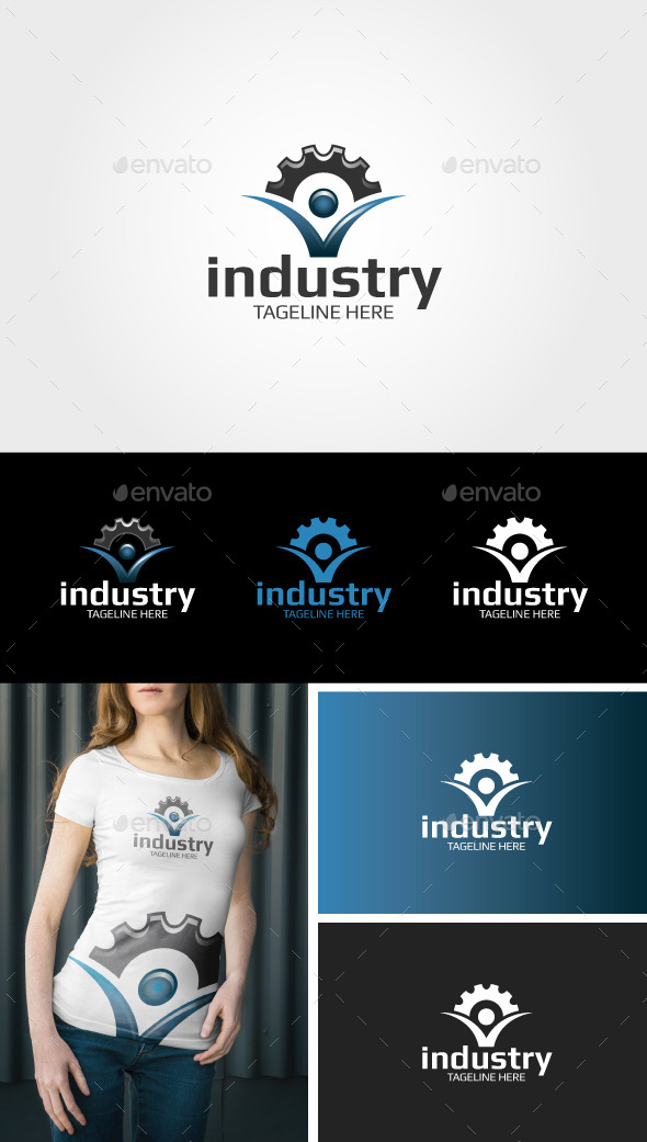 GraphicRiver Industry Logo 9455658