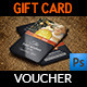 Christmas and New Year Gift / Voucher Card Vol. 15 - GraphicRiver Item for Sale