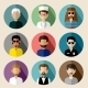 Set of Avatars - GraphicRiver Item for Sale