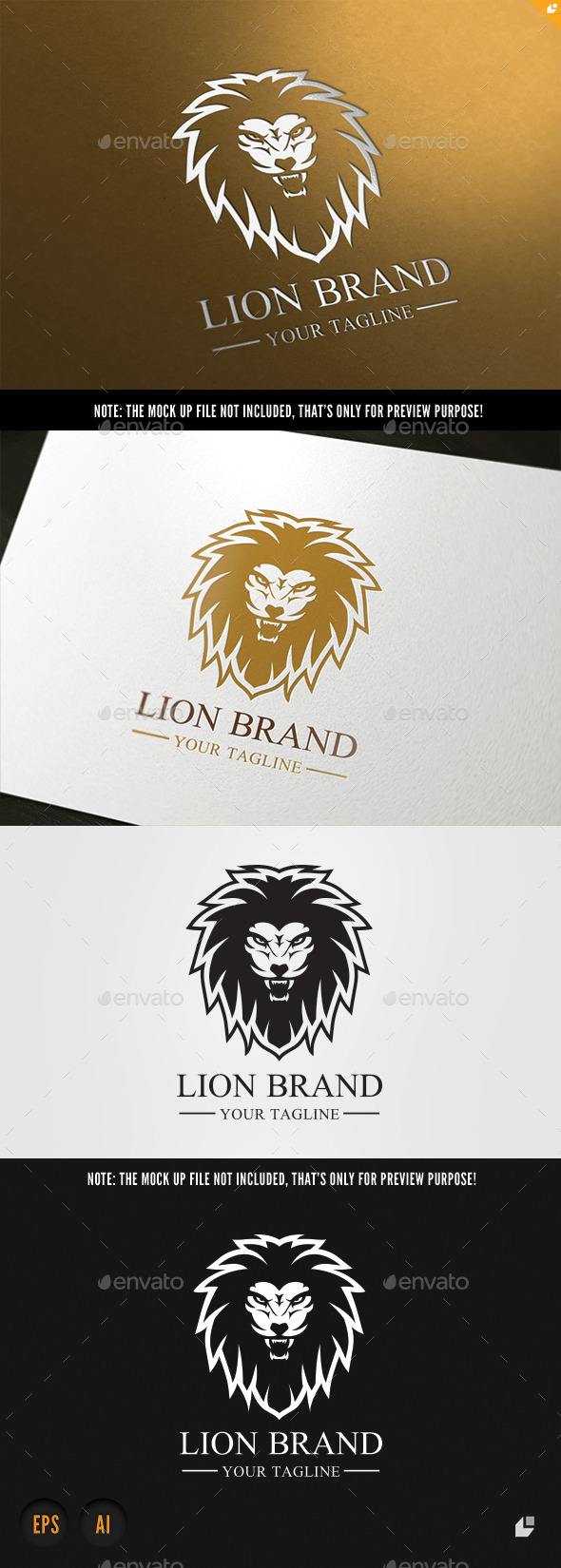 GraphicRiver Lion Brand 9456026
