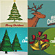Christmas Card/Backgrounds -Col3 - GraphicRiver Item for Sale