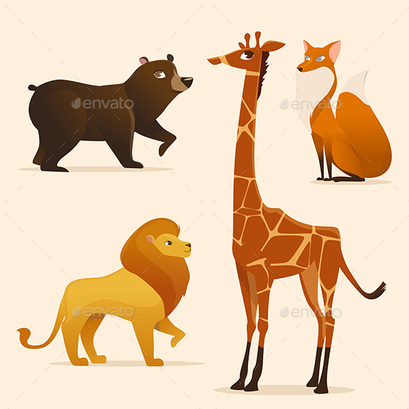 GraphicRiver Animals 9456220