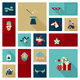 Christmas New Year Icon Set - GraphicRiver Item for Sale