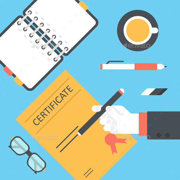 GraphicRiver Desktop Certificate Signing 9456332