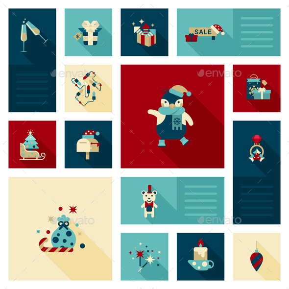 GraphicRiver Christmas Decoration Elements 9456333