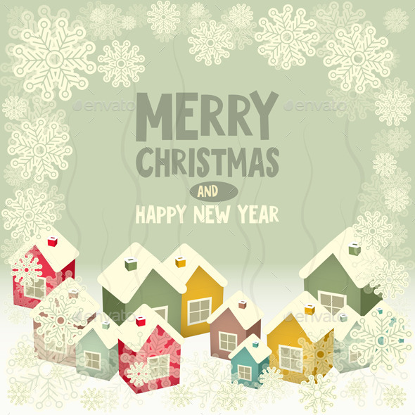 GraphicRiver Christmas Card 9456714