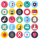 Health Care and Medicine Flat Icons - GraphicRiver Item for Sale