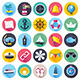 Nautical and Marine Flat Icons - GraphicRiver Item for Sale