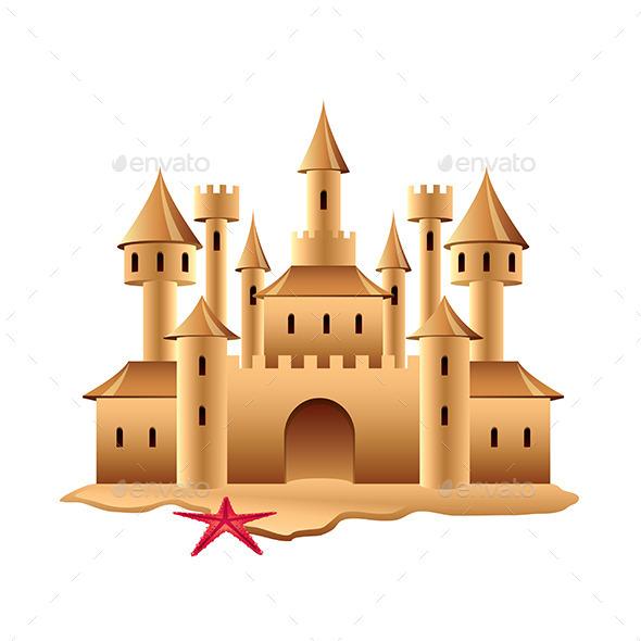 GraphicRiver Sand Castle 9457370