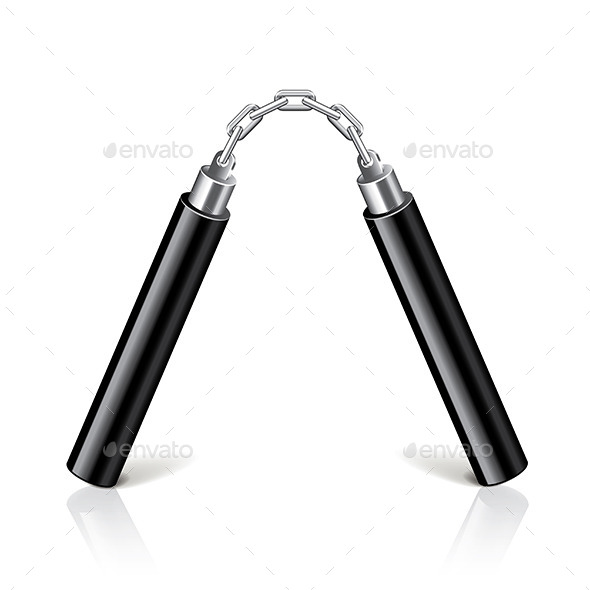GraphicRiver Nunchucks 9457374