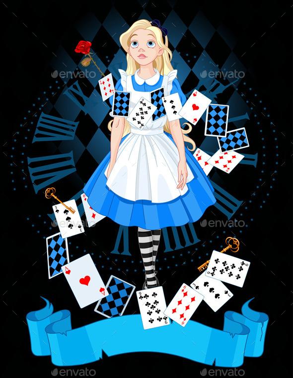 GraphicRiver Alice in Wonderland 9457394