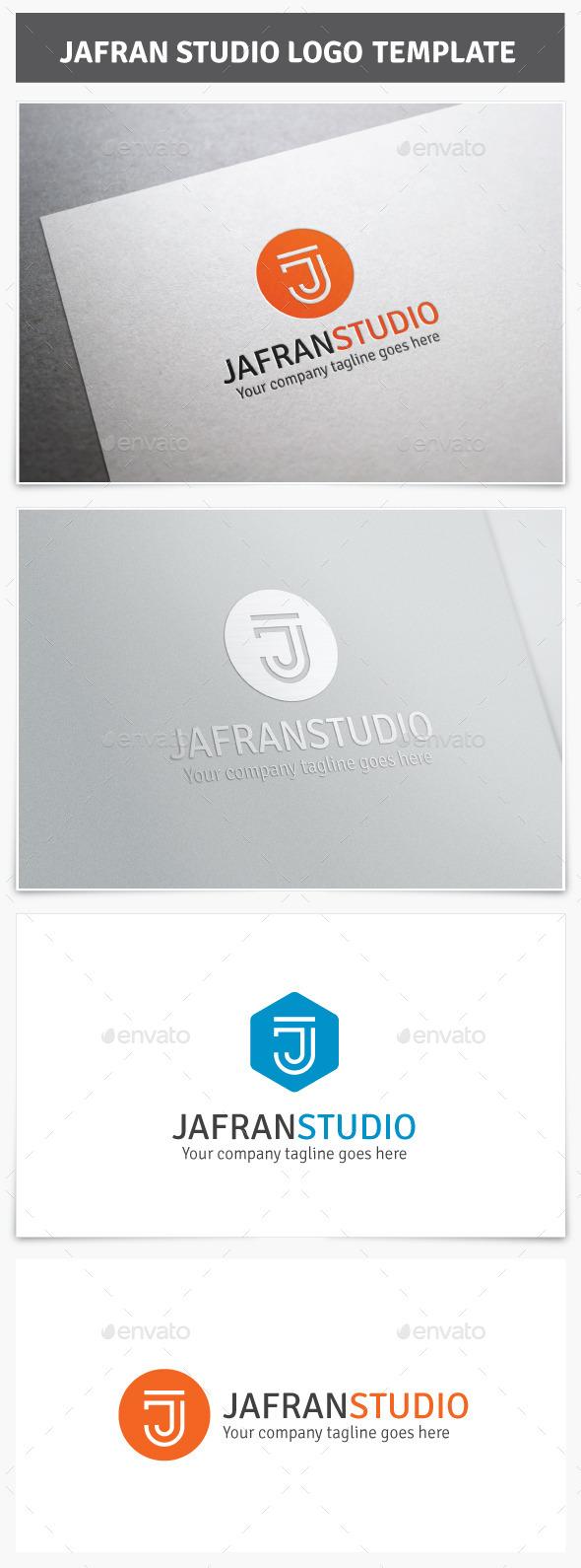 GraphicRiver Jafran Studio Logo 9457640