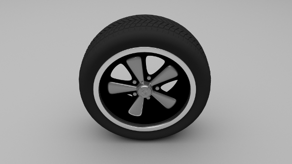 Porsche Wheel 3 - 3DOcean Item for Sale