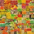 collage of photographs of vegetables and fruits - PhotoDune Item for Sale