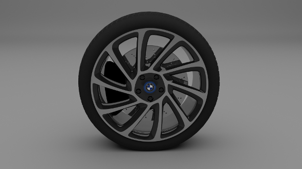 3DOcean BMW i8 Wheel 9457820