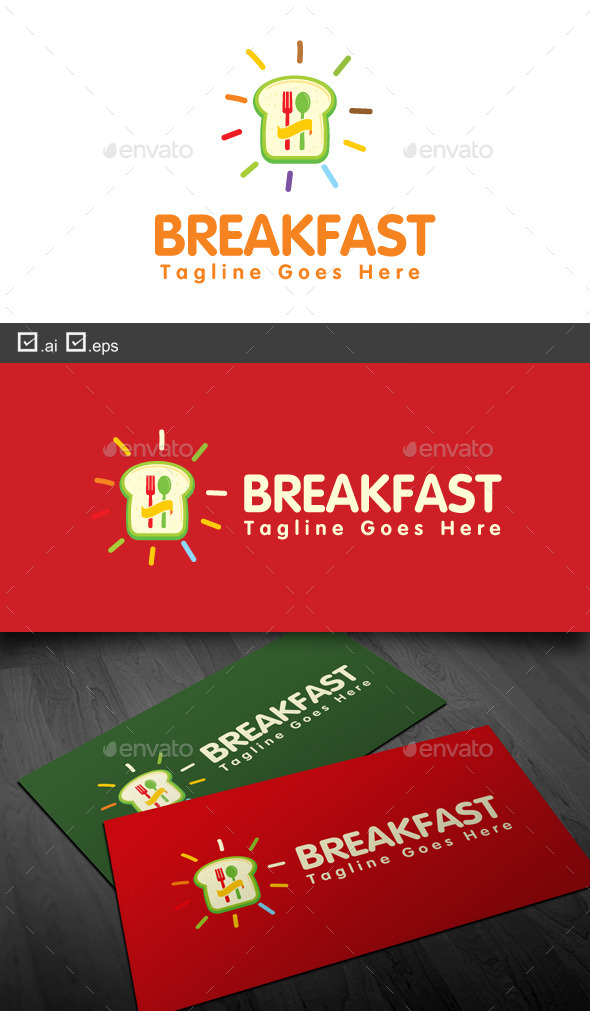 GraphicRiver Breakfast 9457894
