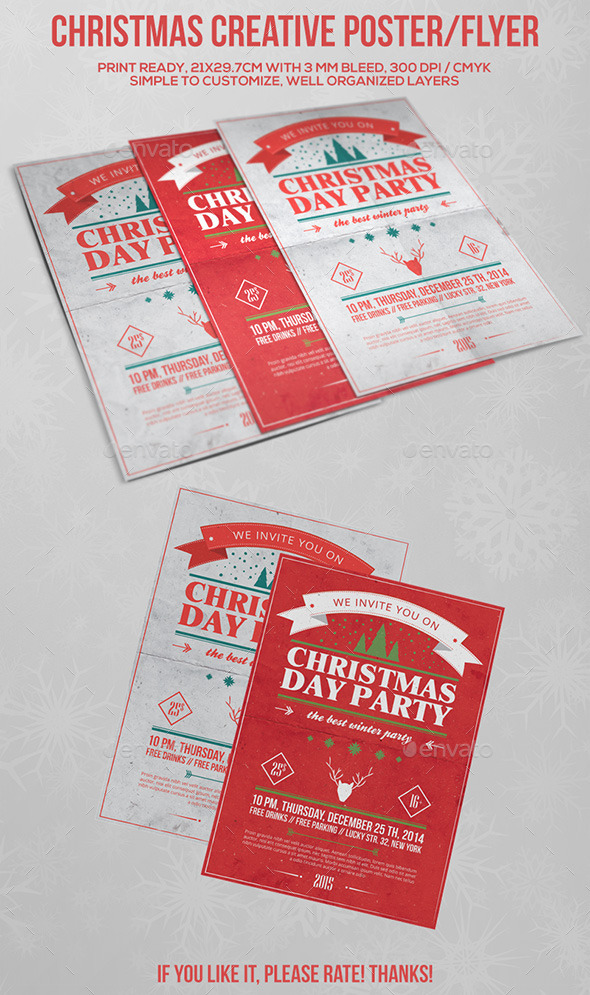 GraphicRiver Christmas Party Poster Flyer Vol.1 9457970