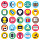 Shopping and Local Business Flat Icons - GraphicRiver Item for Sale