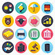 Finance and Stock Market Flat Icons - GraphicRiver Item for Sale