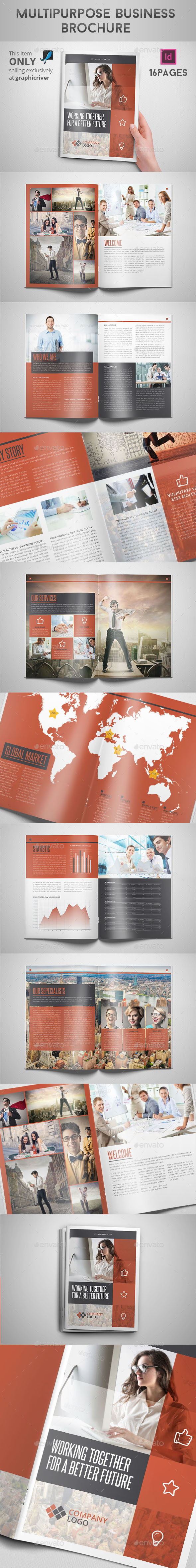GraphicRiver Multipurpose Business Brochure 9458203