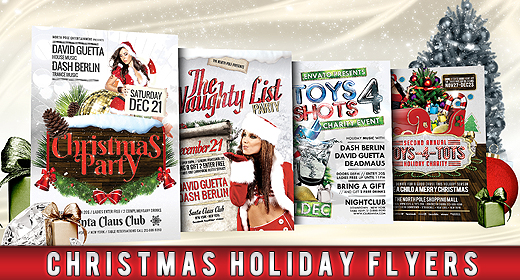 Christmas Holiday Flyers