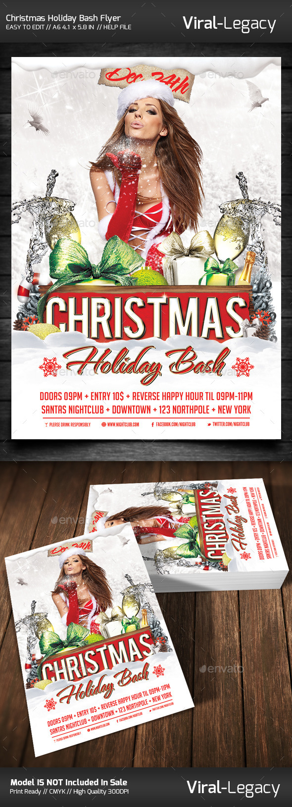 GraphicRiver Christmas Holiday Bash Volume One 9458235